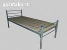кровать металлическая 90х200, кровать металлическая двуспаль