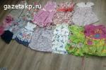 одежда для девочек 0-12лет